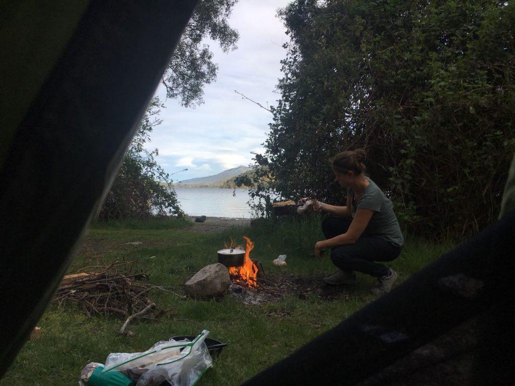 Acampar en patagonia